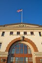 Boston fish market corporation daytime photo of the Royalty Free Stock Photos