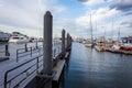 Boston Harbor Marina Royalty Free Stock Photo