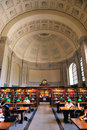 Boston Public Library Stock Photo