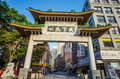 Boston s chinatown may on may in is the only surviving district in new england region of united Royalty Free Stock Photos