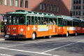 Boston Tourist Trolley Stock Photography