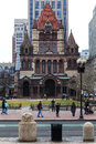 Boston Trinity Church Royalty Free Stock Photos