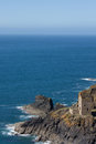 Botallack mine levant and mines cornwall Stock Image