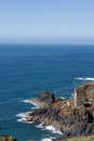 Botallack mine levant and mines cornwall Royalty Free Stock Image