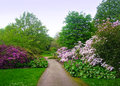 Botanic gardens in edinburgh scotland Stock Photography