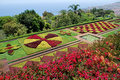 The botanical garden of Funchal in Madeira Stock Photo