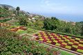 Botanical garden of Funchal in Madeira Royalty Free Stock Photography