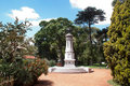 The botanical gardens in buenos aires a monument middle of also known spanish as jardín botánico carlos thays Royalty Free Stock Photo