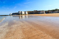 Botany bay broadstairs kent england beach at on the coastline uk Stock Photography