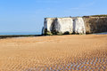 Botany bay broadstairs kent england beach at on the coastline uk Royalty Free Stock Photography
