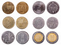 Israeli Coins - Frontal Royalty Free Stock Photo