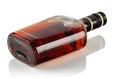 Bottle of brandy Royalty Free Stock Photo