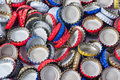 Bottle cap background Royalty Free Stock Photos