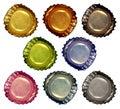 Bottle Caps 1 Royalty Free Stock Photo