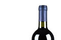 Bottle of fine Italian red wine Royalty Free Stock Photo