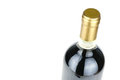 Bottle of fine Italian red wine Royalty Free Stock Photo