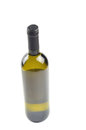 Bottle of fine Italian white wine Royalty Free Stock Photo