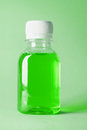 Bottle Of Mouthwash Stock Photography