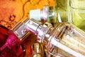 Bottle of parfum Royalty Free Stock Photo