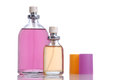 Bottle of perfume Stock Images
