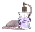 Bottle of perfume isolated on the white background Royalty Free Stock Photo
