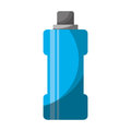 Bottle water gym isolated icon
