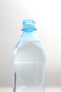 Bottle of water isolated on a white background Royalty Free Stock Image