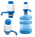 Bottle with water pump Royalty Free Stock Image