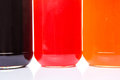Bottled Blueberry, Strawberry, Orange Jam VII Royalty Free Stock Photo