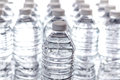 Bottled Water Rows Royalty Free Stock Photo