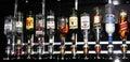 Bottles of booze Royalty Free Stock Photo