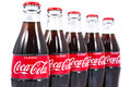 Bottles of Coca Cola Royalty Free Stock Photo