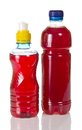 Bottles with compote from fruit Royalty Free Stock Photo