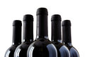 Bottles of fine italian red wine Royalty Free Stock Photo