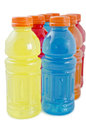 Bottles of juice Royalty Free Stock Photography