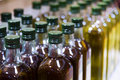 Bottles of olive oil Royalty Free Stock Photo