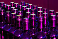 Bottles purple Royaltyfria Foton