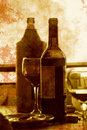 Bottles retro serie a Royalty Free Stock Images