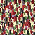 Bottles seamless pattern Royalty Free Stock Photo