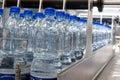 Bottling plant Royalty Free Stock Image