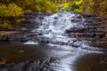 Bottom Falls at Myosotis Royalty Free Stock Photo