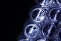 Bottom glass bottles Royalty Free Stock Photo
