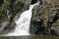 The Bottom of Linville Falls Royalty Free Stock Photo