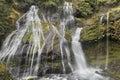 Bottom of Panther Creek Falls Royalty Free Stock Photo