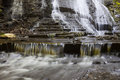 Bottom Of Rynex Falls Royalty Free Stock Photo
