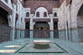 Bou Inania Madrasa at Meknes, Morocco Royalty Free Stock Image
