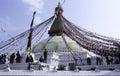 Boudhanath Royalty Free Stock Photo