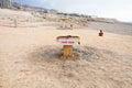 Boue libre sur la côte de la mer morte Photos stock