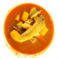 Bouillabaisse,traditional fish soup from Marseille Royalty Free Stock Photos