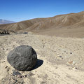 Boulder in Death Valley. Royalty Free Stock Image
